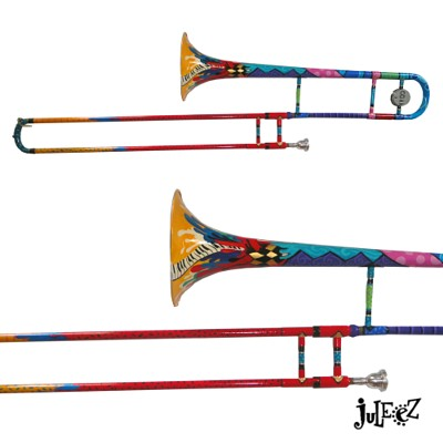 Juleez Colorful Trombone Musical Instruments