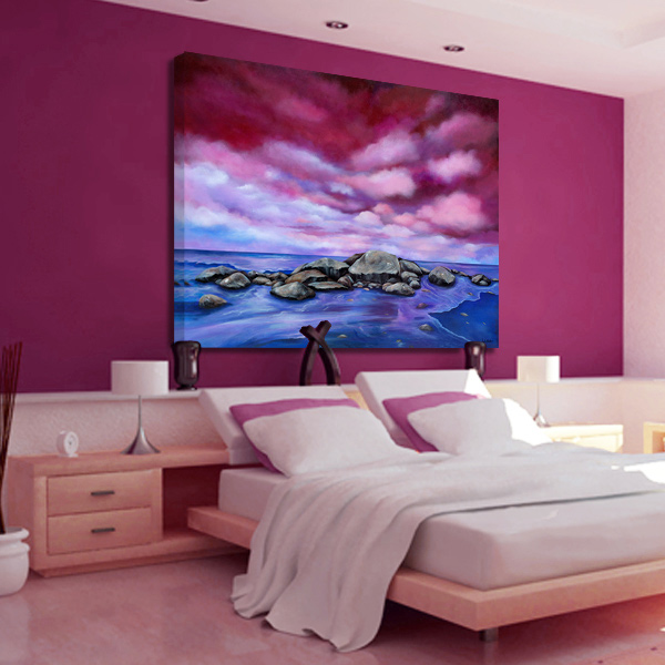 Hotel Interior Artworks by Juleez