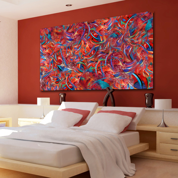 Large Contemporary Colorful Wall Art