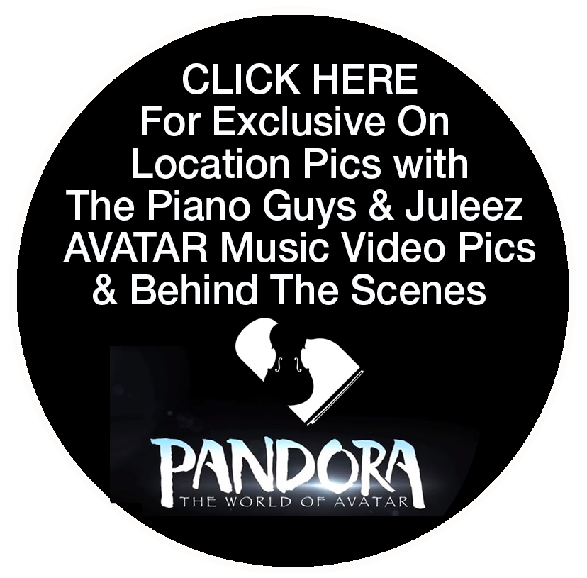 The Piano Guys Avatar Video Pandora Disney World