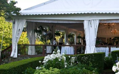 The Inn At Mystic Has Indoor And Outdoor Facilities For A Wedding Reception