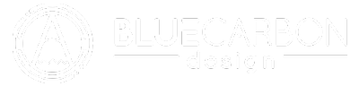 Blue Carbon Design Banner Logo