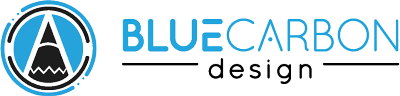 Blue Carbon Design Logo