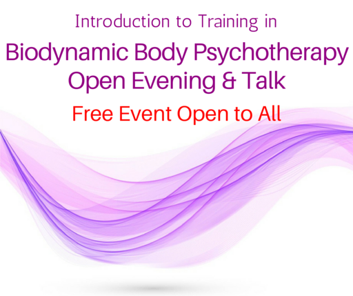 Centre for biodymanic psychotherapy open evening and talk