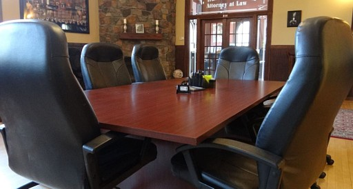 Our conference table for face-to-face meetings