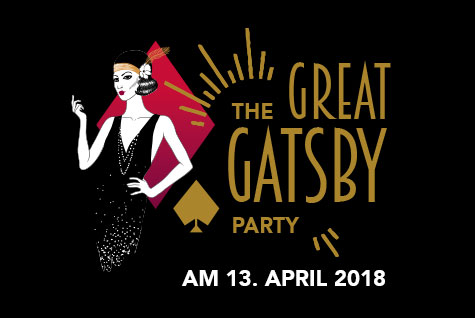 Great Gatsby Party – Event am 13. April