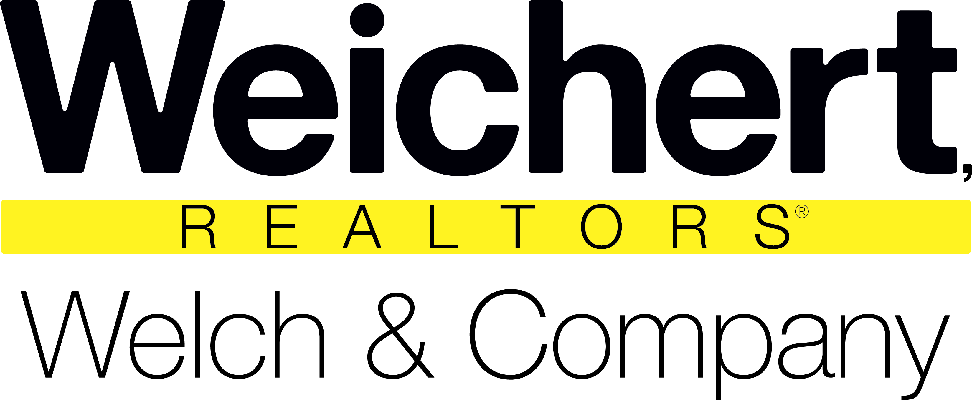 Weichert Realtors Welch and Company Logo