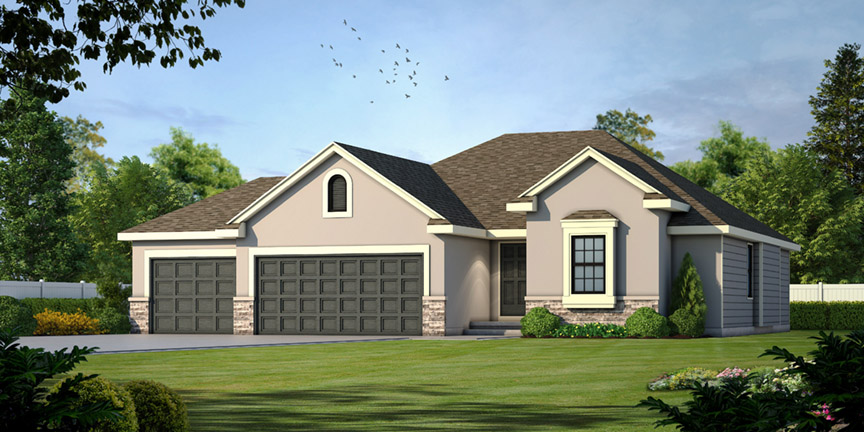 The Willow Floor Plan by Ashlar Homes