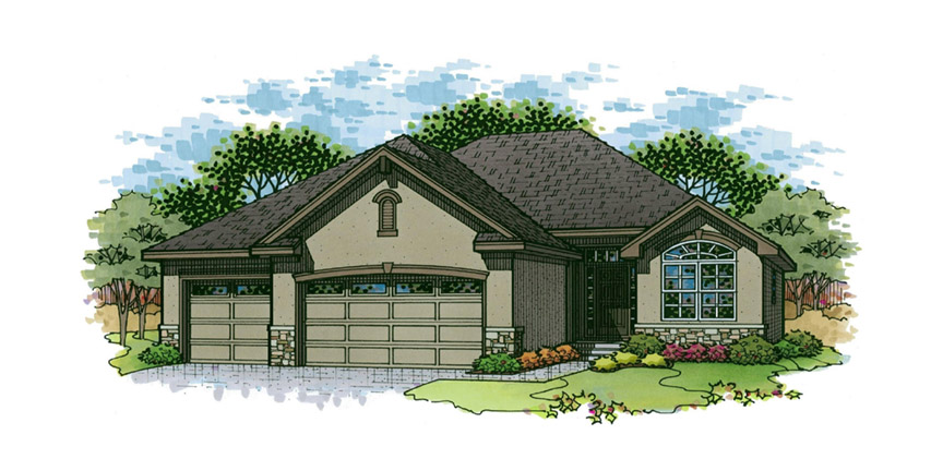 The Laurel Floor Plan by Ashlar Homes