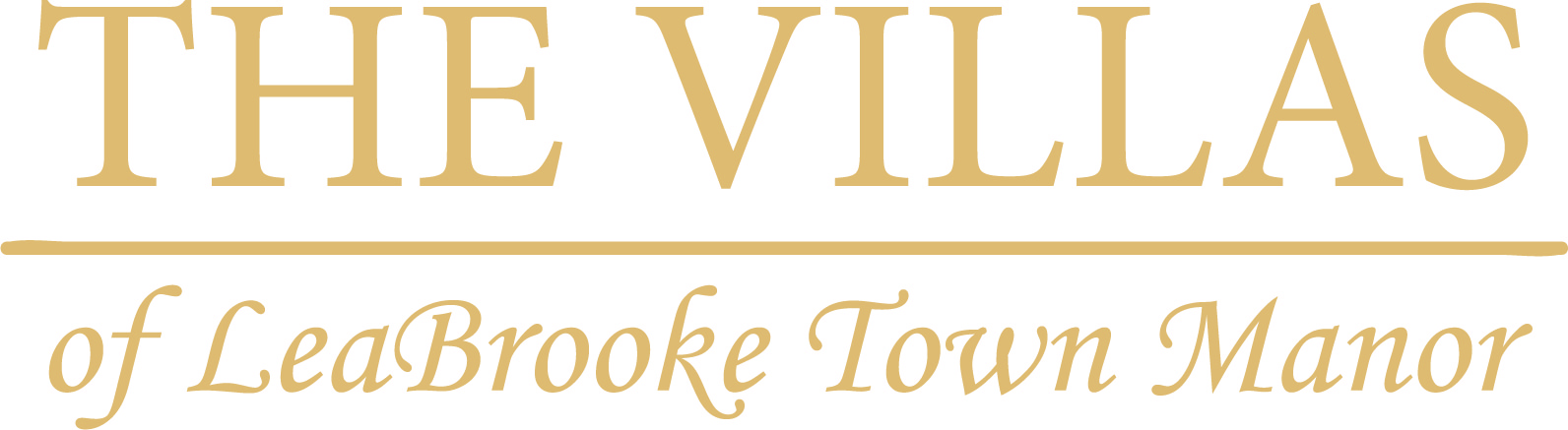The Villas of Leabrooke Town Manor Logo
