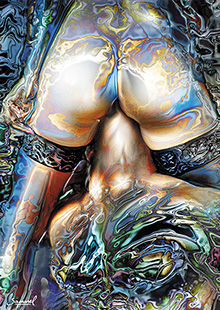 Best seller erotic art print on canvas for only $95