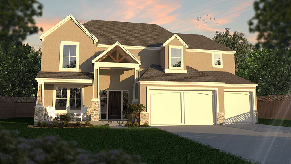 The Landon Revised by New Mark Homes