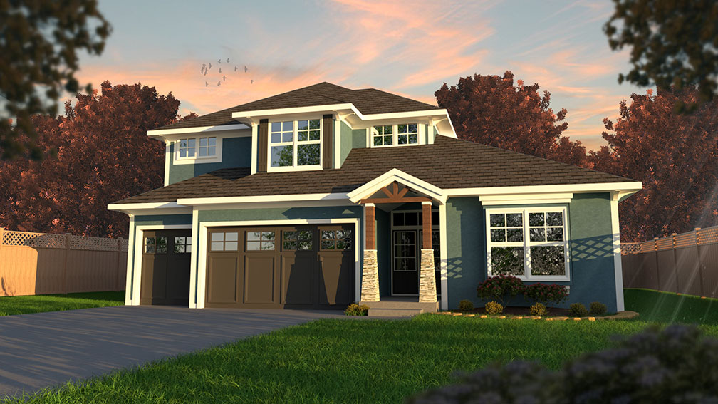 The Porter II by Roeser Homes