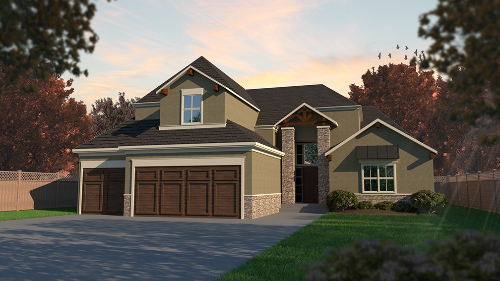 The Timberland by New Mark Homes