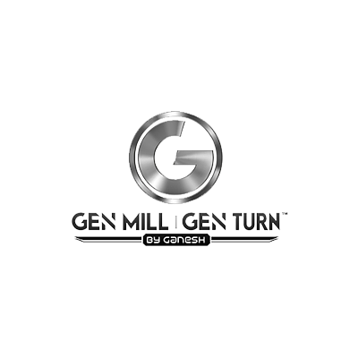 GEN MILL GEN TURN by Ganesh Logo
