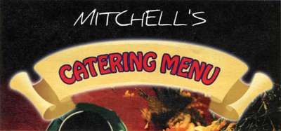 Art work for Mitchell's catering