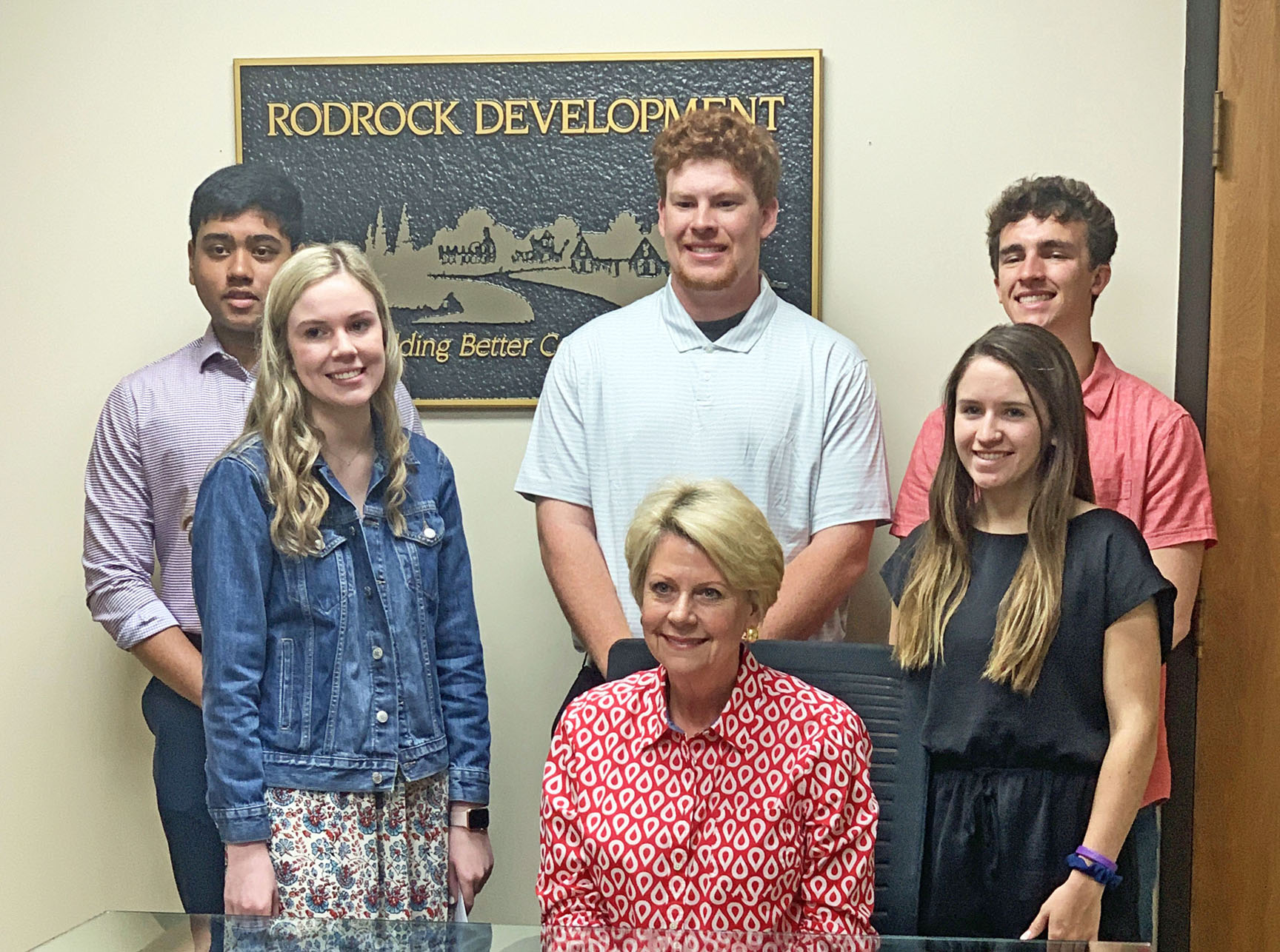 Winners of the Rodrock Vision Scholarship