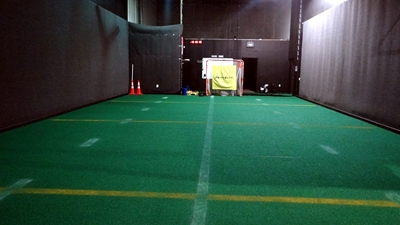 Indoor turf at Foresi's