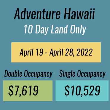 Adventure Hawaii Vacation Price
